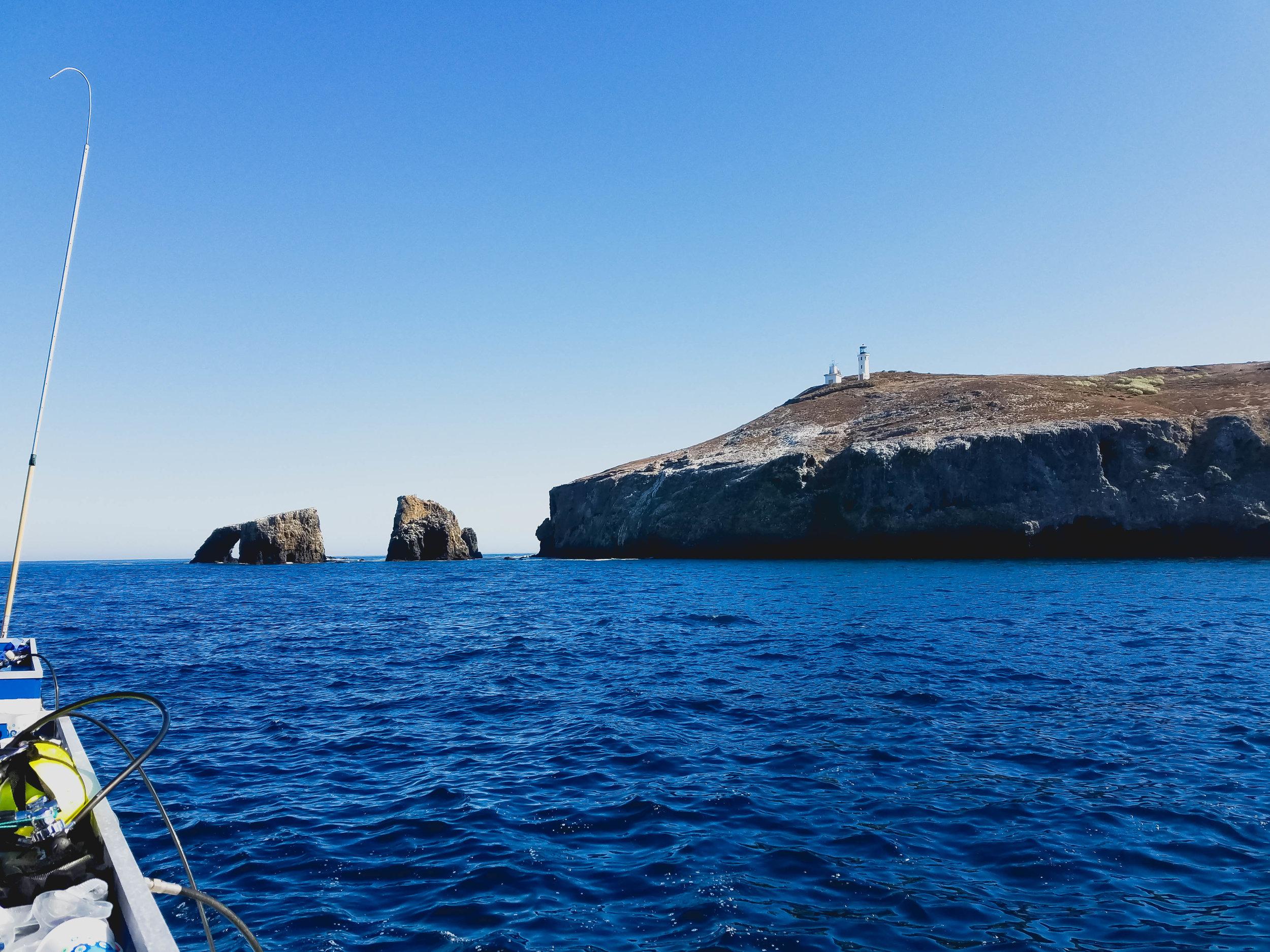 anacapa island lighthouse.