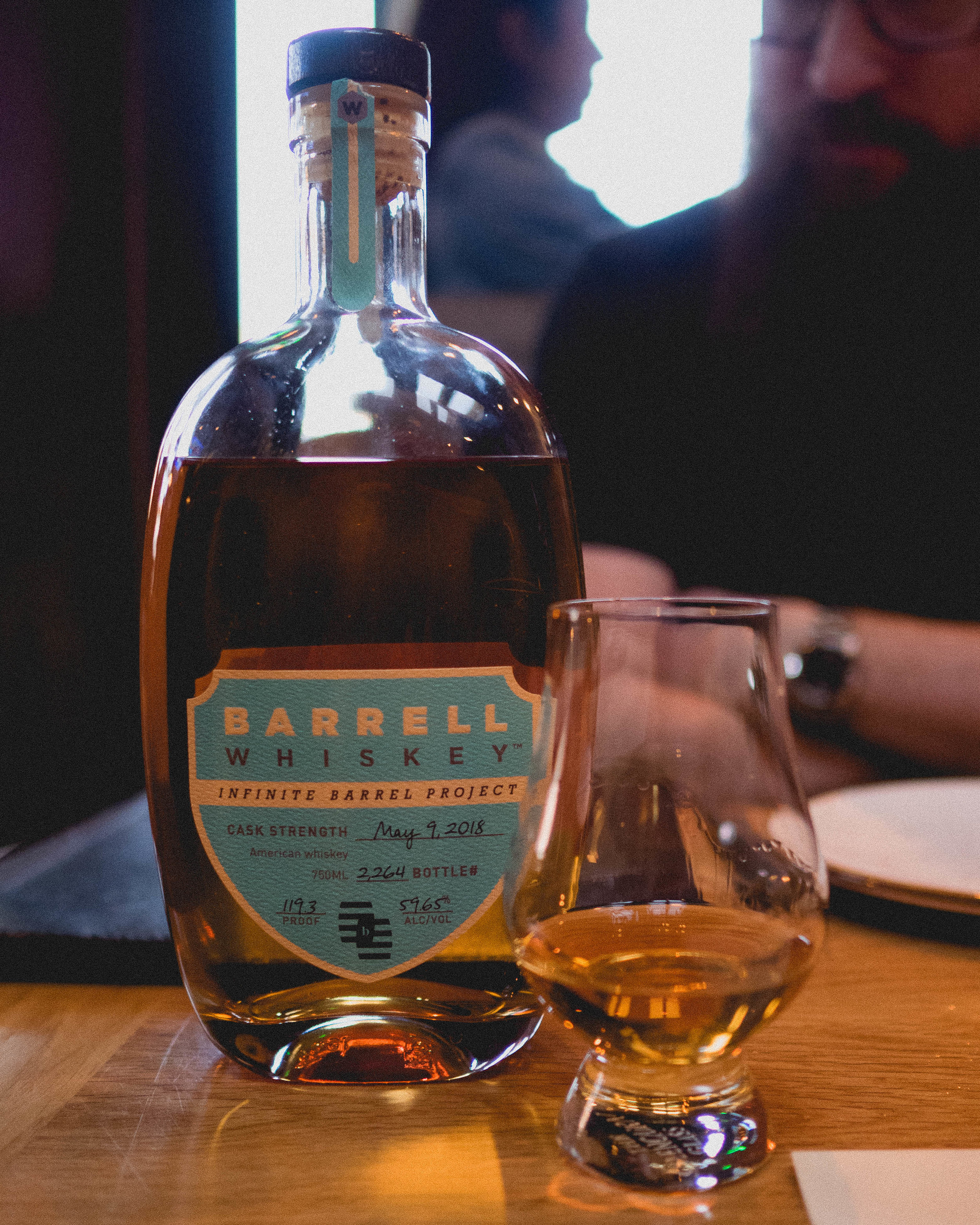 whisky #1:  barrell whiskey  infinite barrel project.