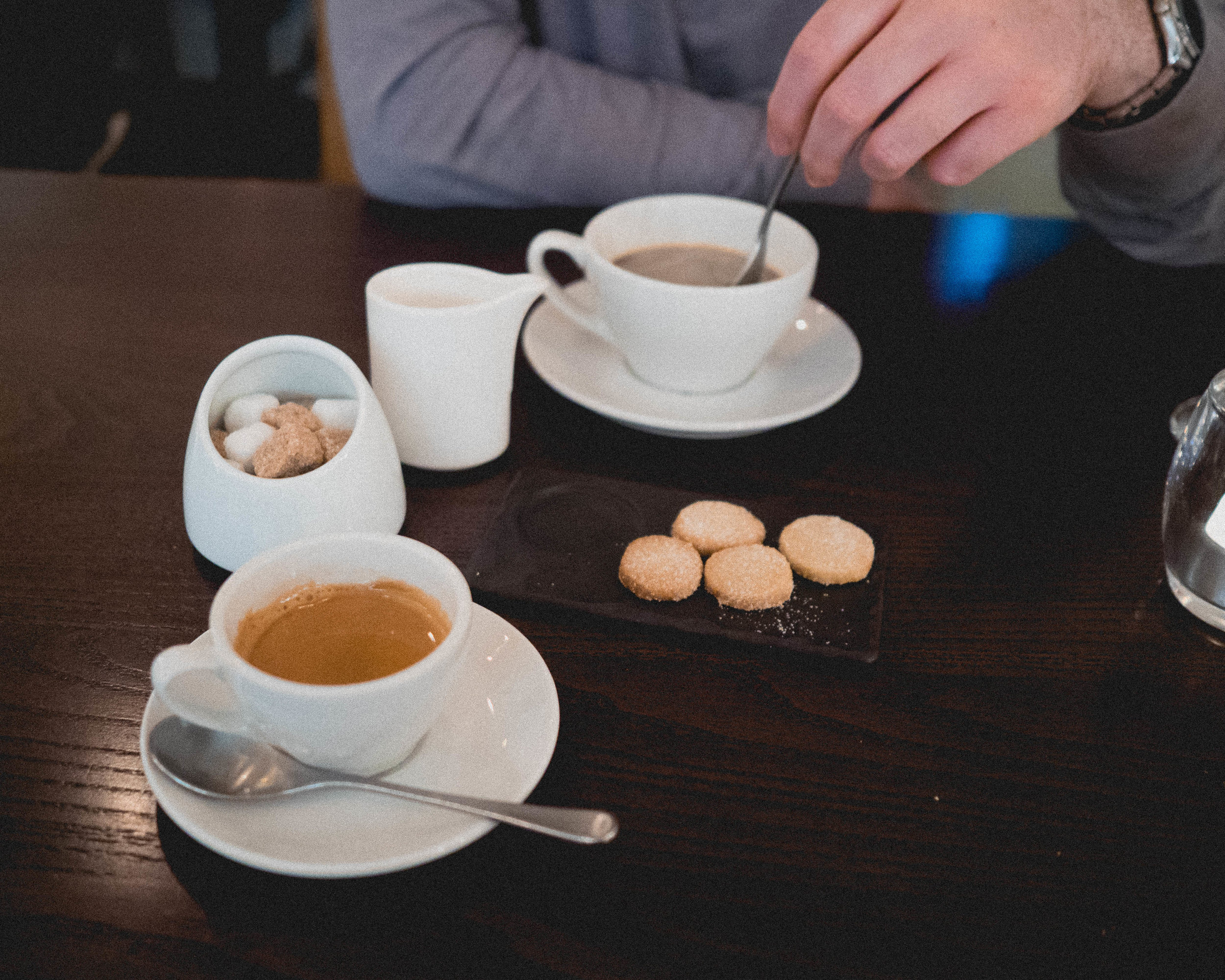 coffee & shortbread.