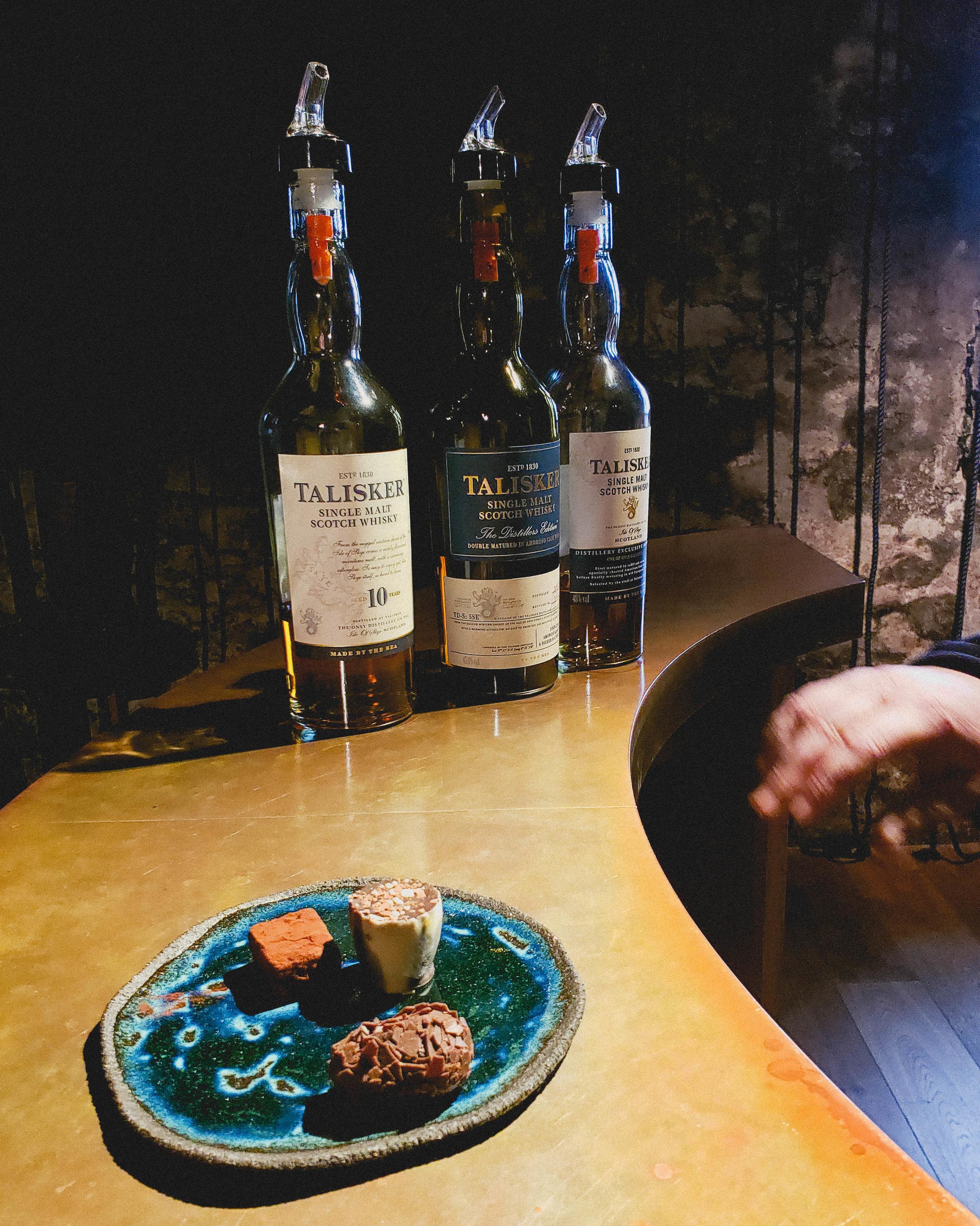 whisky and chocolate pairing.