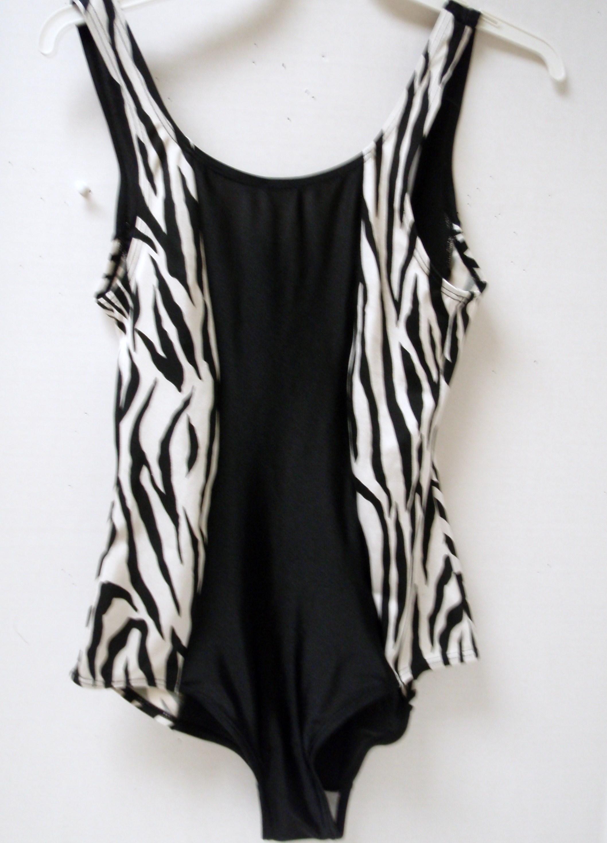Women's 1pc Zebra W1PC-5