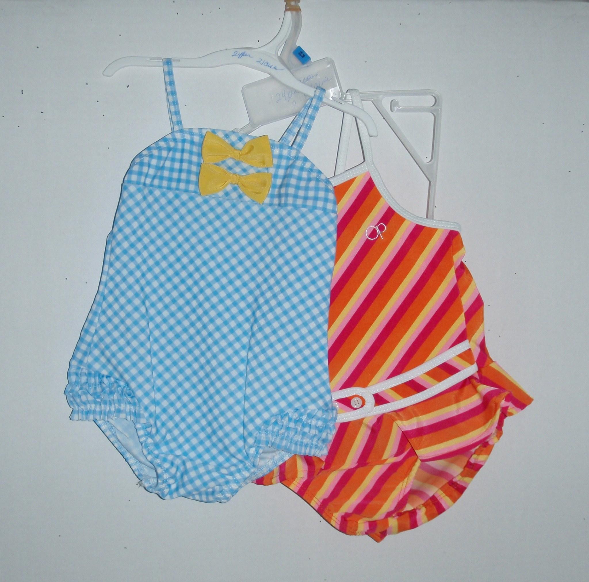 Infant's 1pc Polka Dot/Stripe - 24 per case