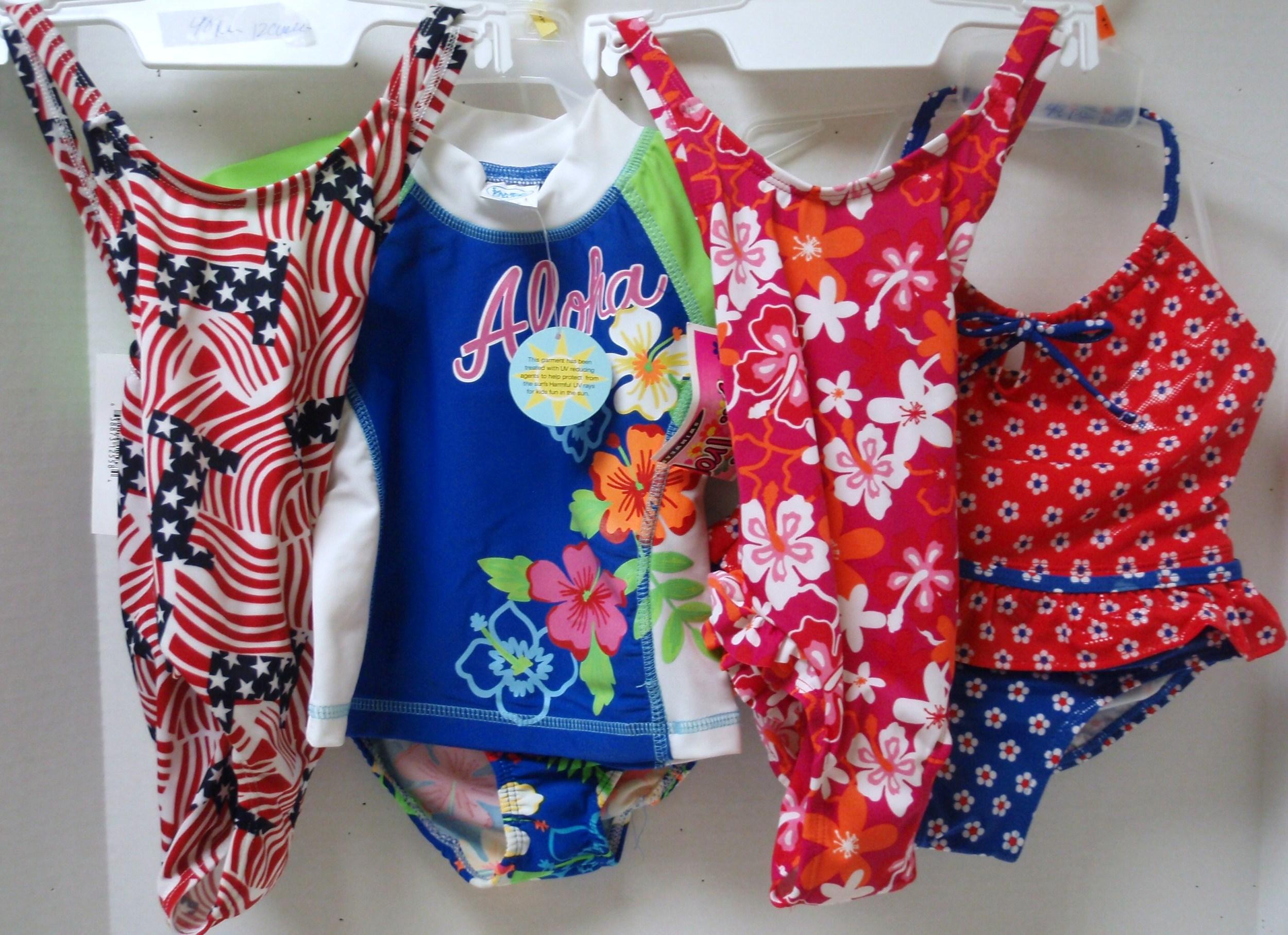 Girl's Assorted Swim - 48 per case