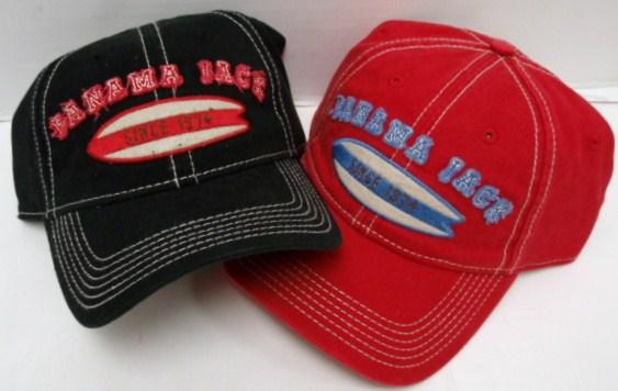 HAT PANAMA JACK DISTRESSED SURF BOARD CAP