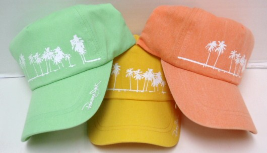 HAT PANAMA JACK PALM TREE WOMEN'S CAP