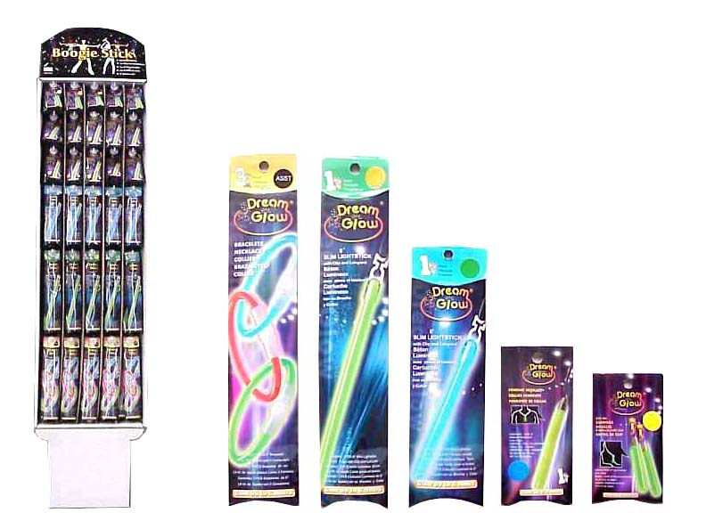 Lite Up Sticks Assorted Display - 285 per display