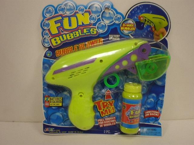 Bubble Fun Gun- 72 per case