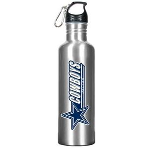 COWBOYS: Eco Water bottle: Silver