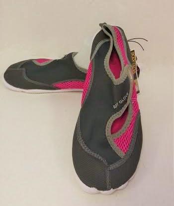aqua: Women's wave body glove horizon (total eclipse/bright rose) 12 per case musical run sizes 6-10