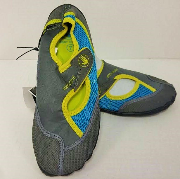 aqua: women's wave body glove horizon (blu/green) 12 per case musical run sizes 6-10