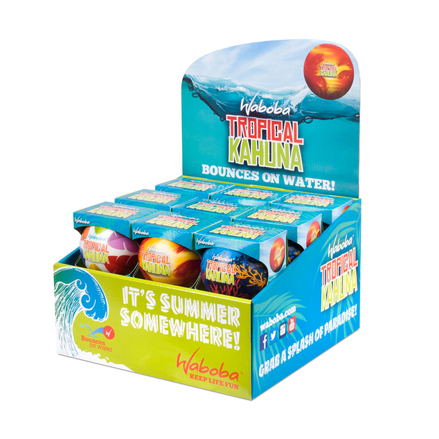 Waboba Ball : Tropical Kahuna 18 PER DISPLAY