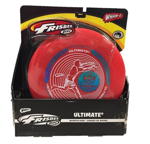Wahmo-o Frisbee ultimate: 6 per display