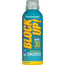 """block up: sport spf 30, """"fruit of the earth"""", 5 OZ"""