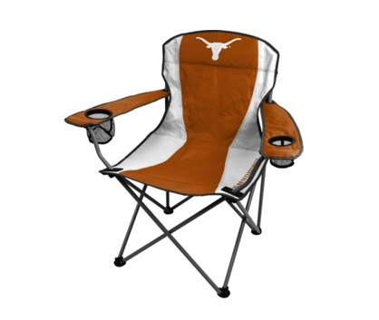 UT Longhorn Tailgate Chair Burnt Orange, AVAILABLE in pink and burnt orange