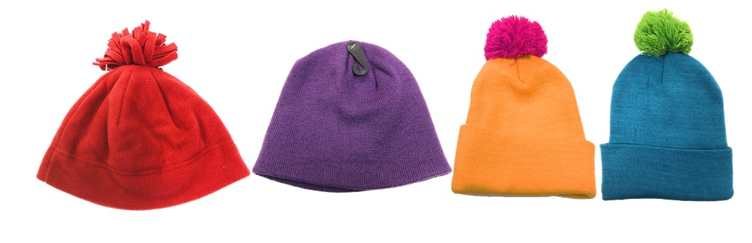 assorted WOMEN'S knit hats