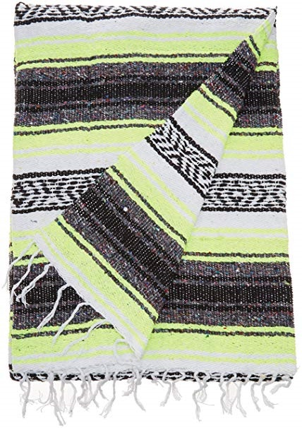 Mexican Striped Blanket Assorted Colors