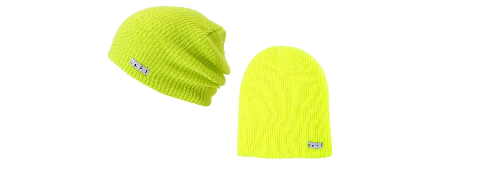 neff knit hats, assorted styles