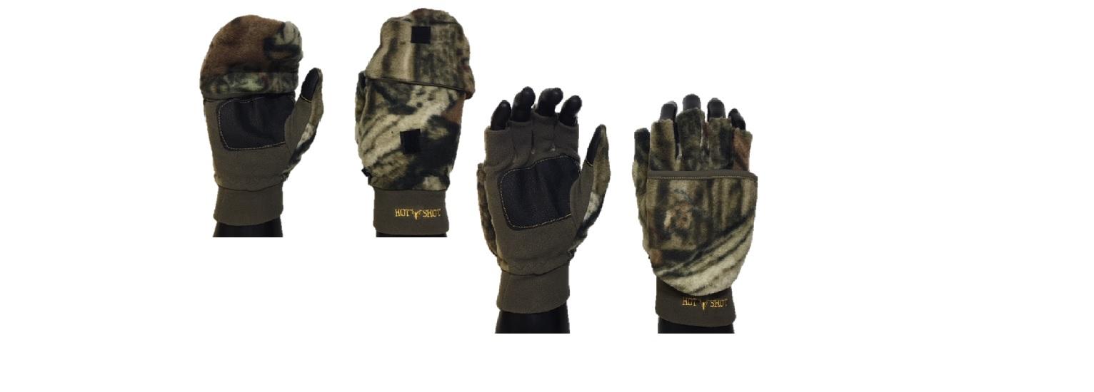 mossy oak: hot shot insulated camo gloves