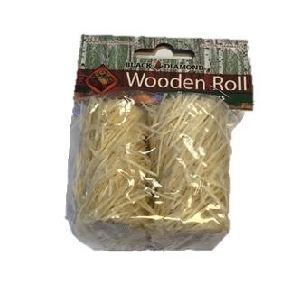 Black diamond wooden roll fire starters 2pack