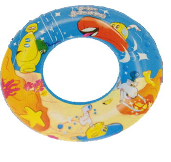 Designer swim ring
