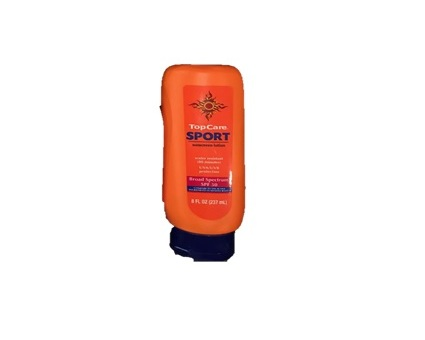 TOP CARE SPORT SPF 50 LOTION 8OZ