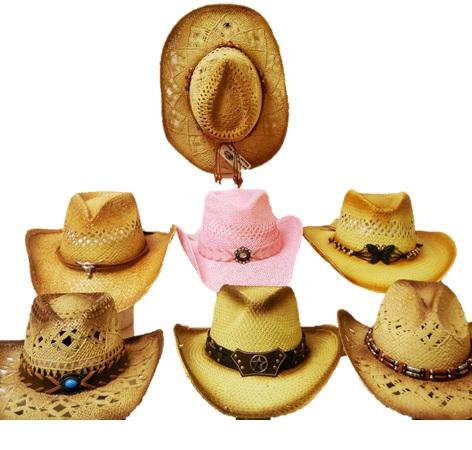 straw hats asst