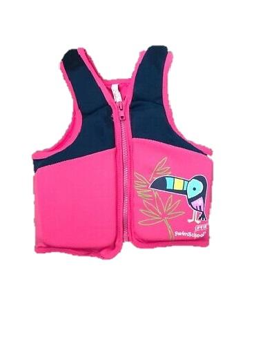 Swim schoolgirls life vest