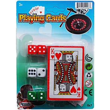 Card & Dice Set - 216 per case