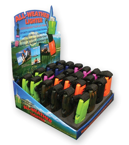 All weather lighters -24 per display