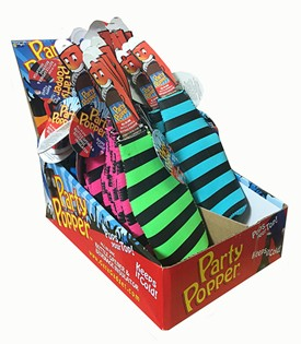Party Popper Koozie - Styles and colors may vary