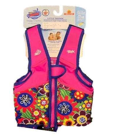 Swim trainer girls life vest
