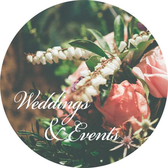 WEDDINGS & EVENTS | 婚禮&活動花藝