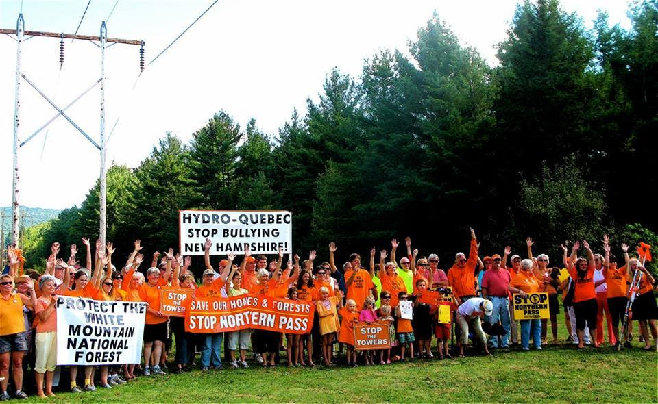 ACT community members have been staunch opponents of the Northern Pass project from the very start.