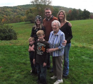 Four generations of Godfreys.