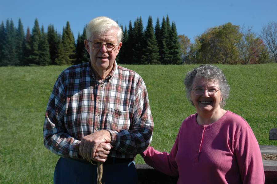 Ted and Lois McGee.