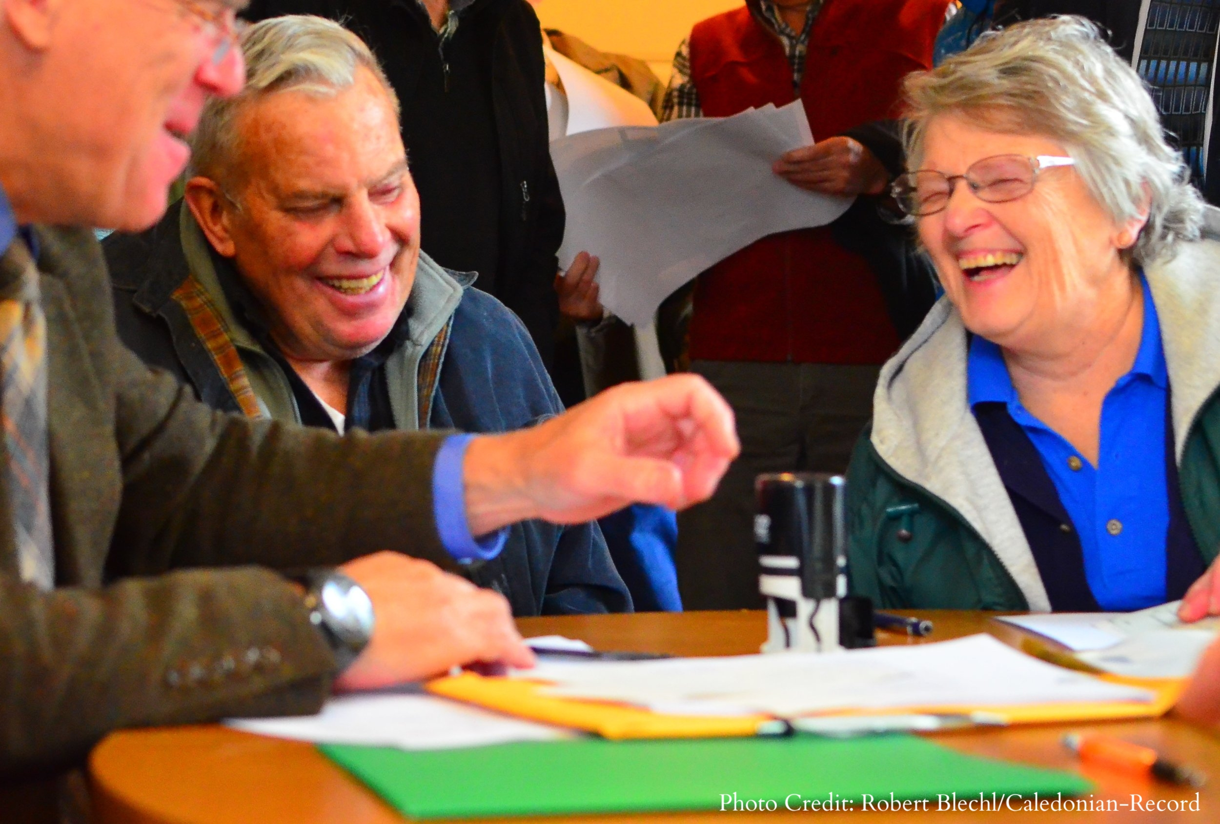Sandy and Gary Peters complete the conservation of their farm in Bath, NH.