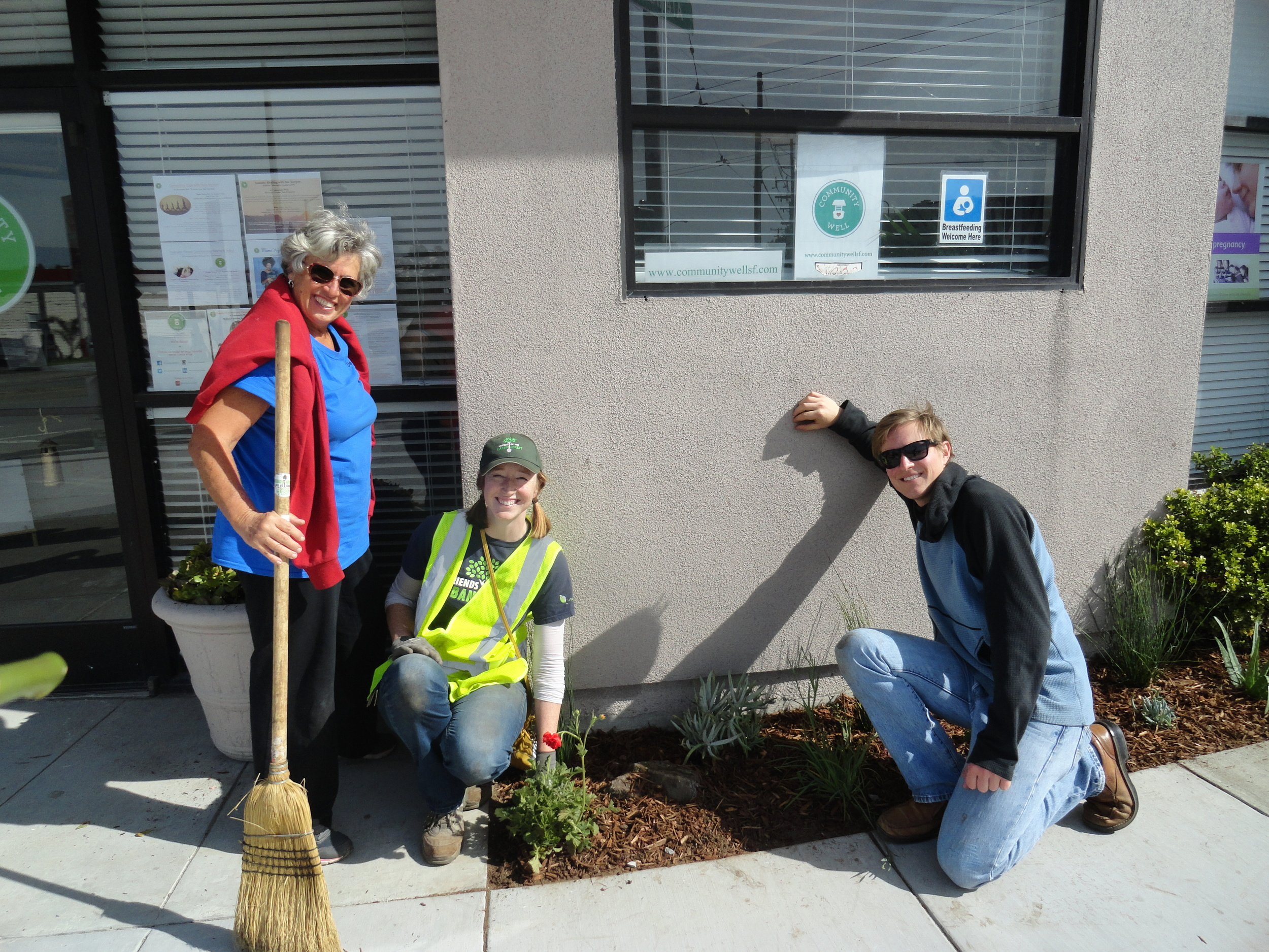 friends of the urban forest community well