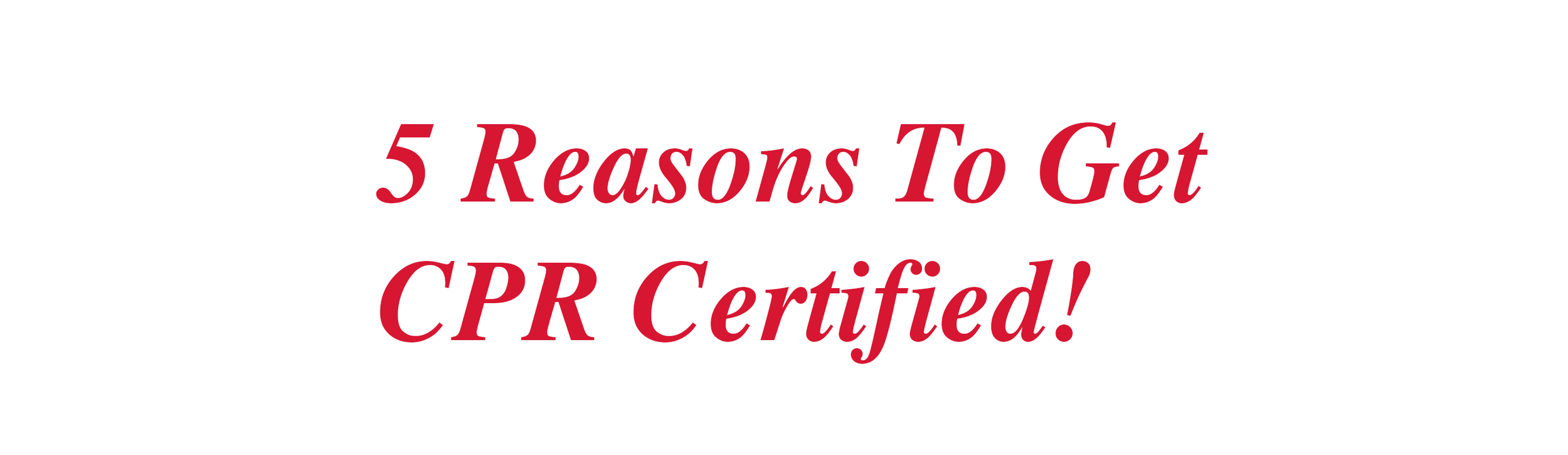 cpr san francisco certification