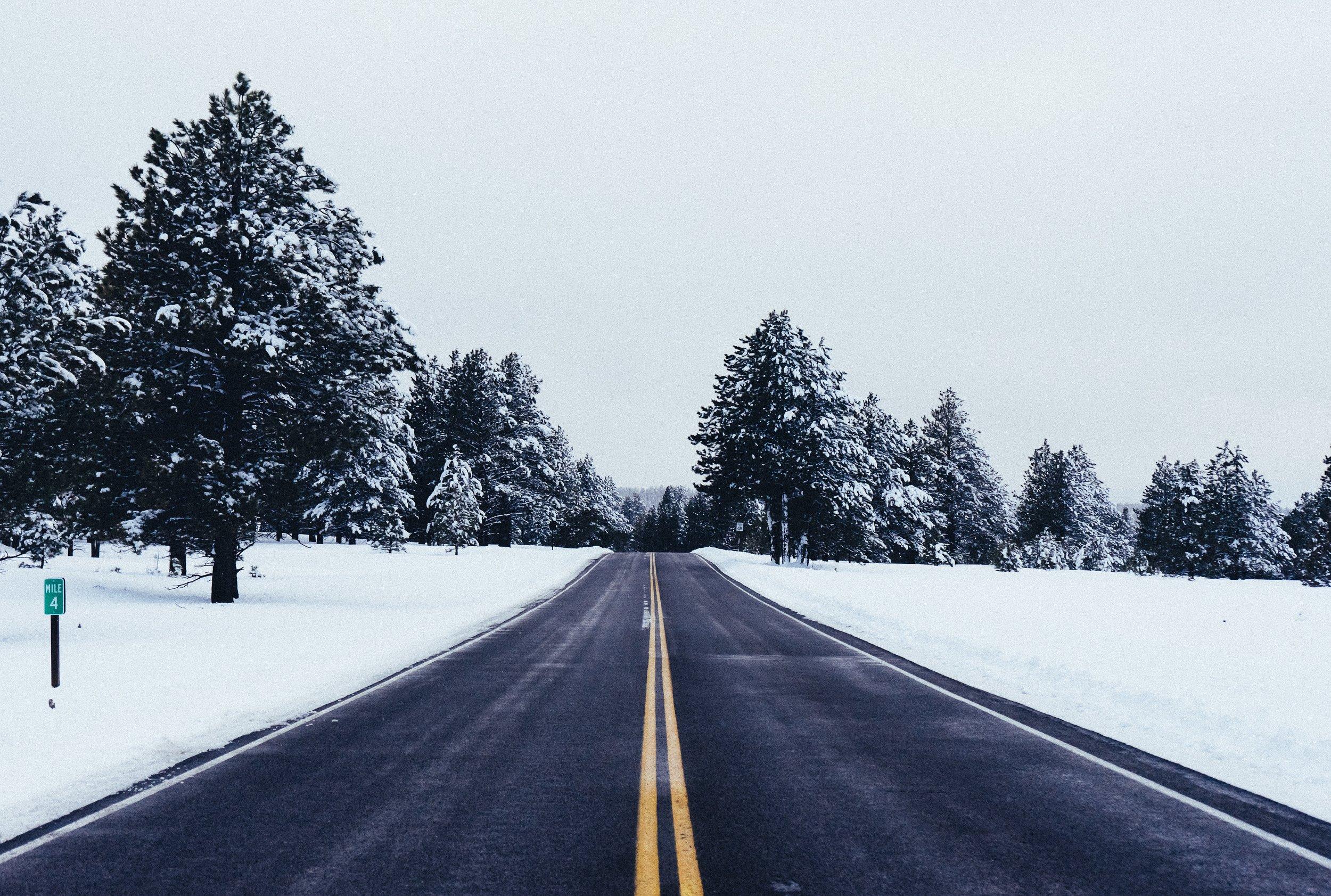 'snowfall stopping...'