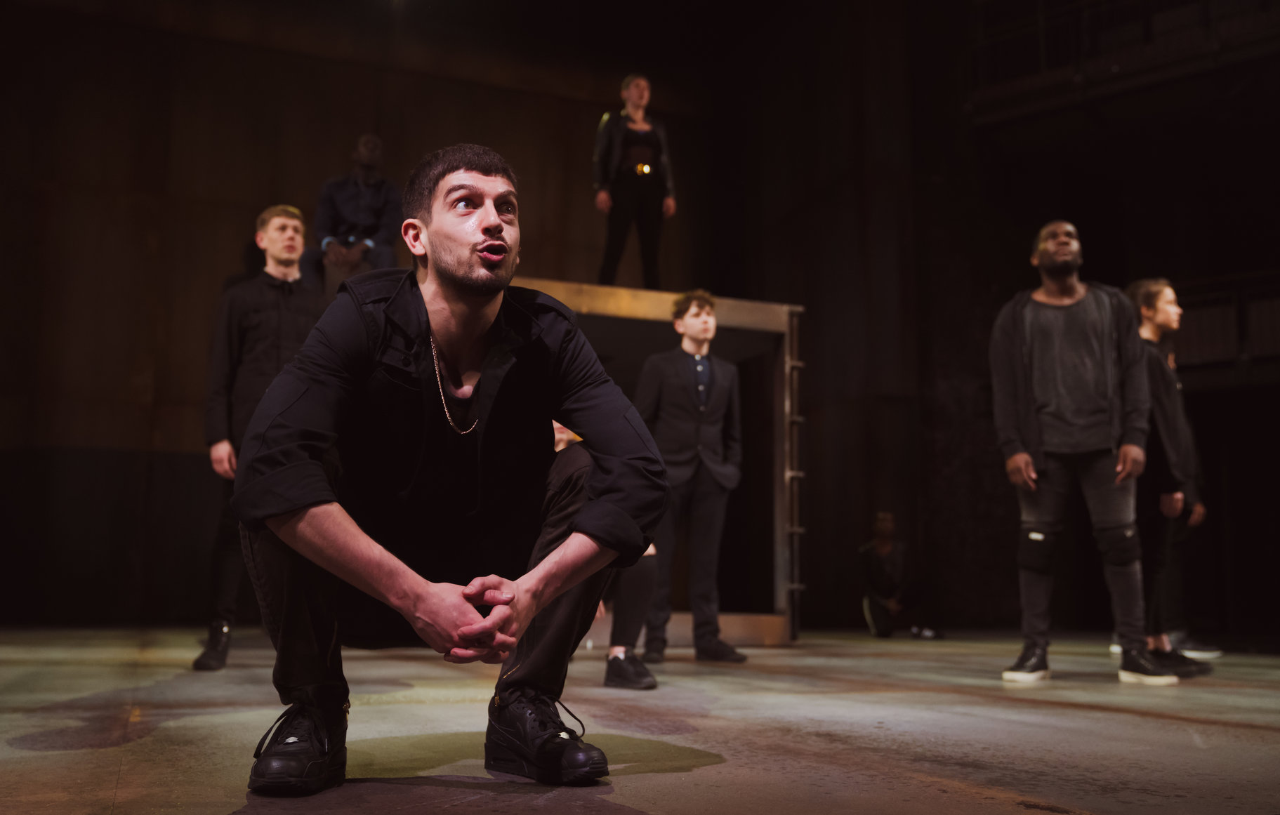 © Topher McGrillis, RSC (Nima Taleghani as Abraham + The Company)