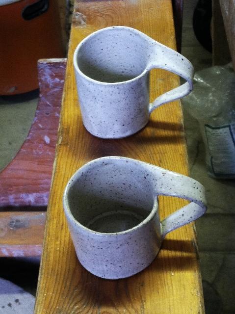Swag Mugs in quail egg