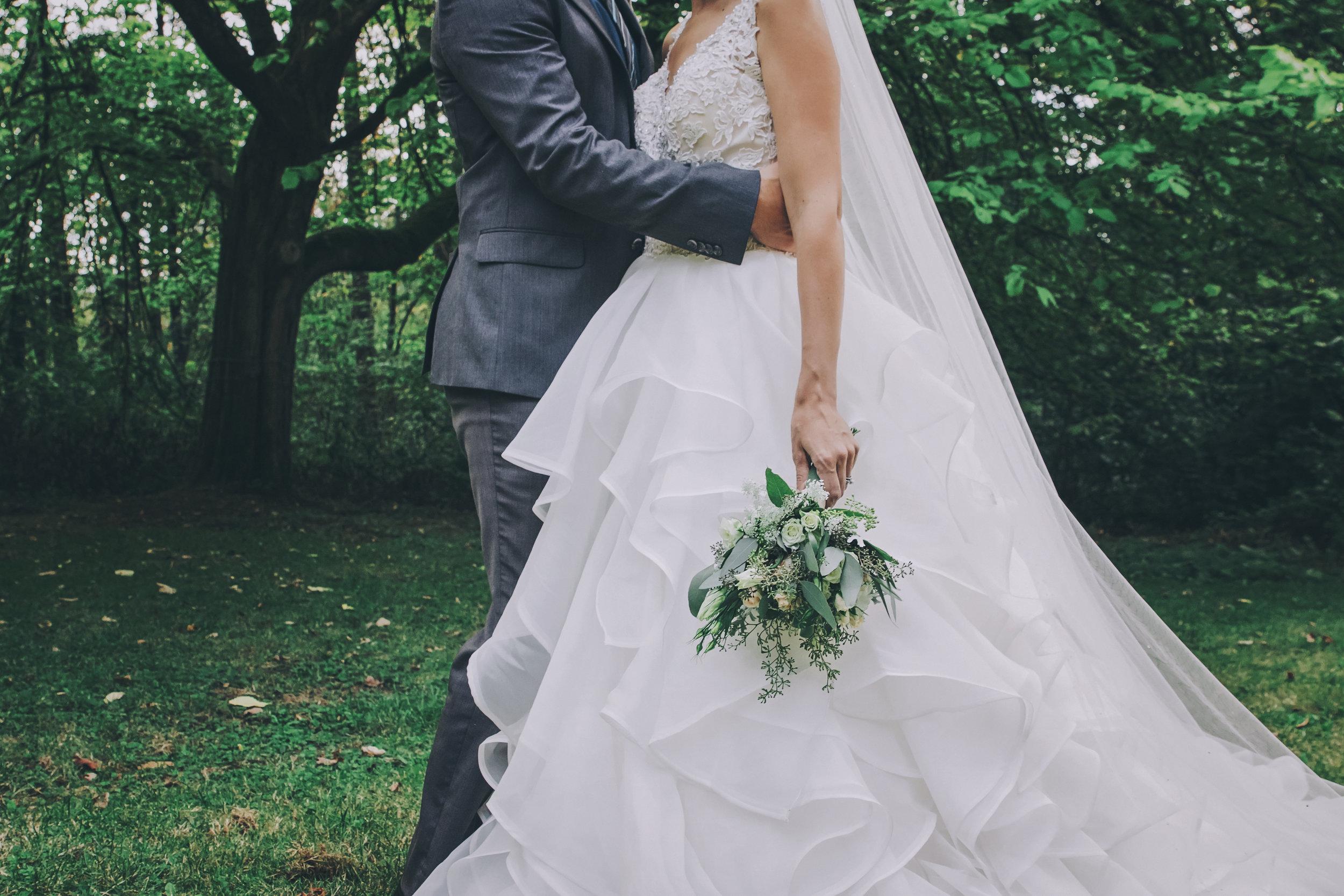 #woodland #wedding #whimsical #ballgown #connection #emotional #fairytale #princess #bride #groom #greywedding #etherealwedding #fairytalewedding #cathedralveil #veil