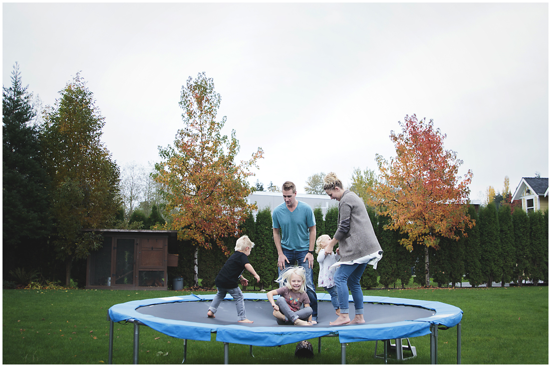 #documentaryphotography #lifestlyephotography #vancouver #langley #fraservalley #mother #father #kids #trampoline #jenga #booknook #lifestyle #inhome #fall #familyof5 #fourthbaby #maternity #reading #whitekitchen #activefathers #playwithyourkids