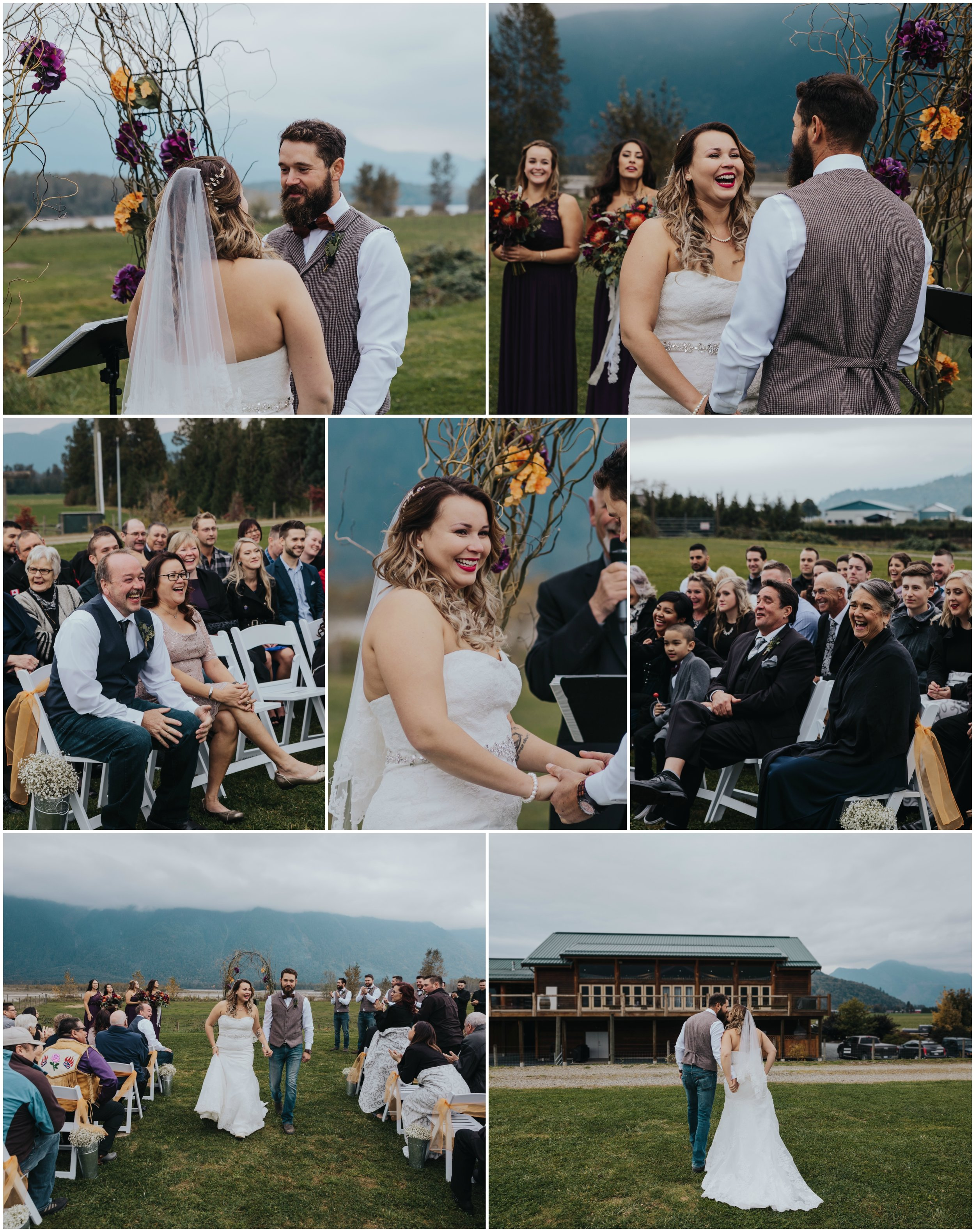 Fraser River Lodge, Rustic Pine Wedding, Red, Purple, Plaid 9.jpg