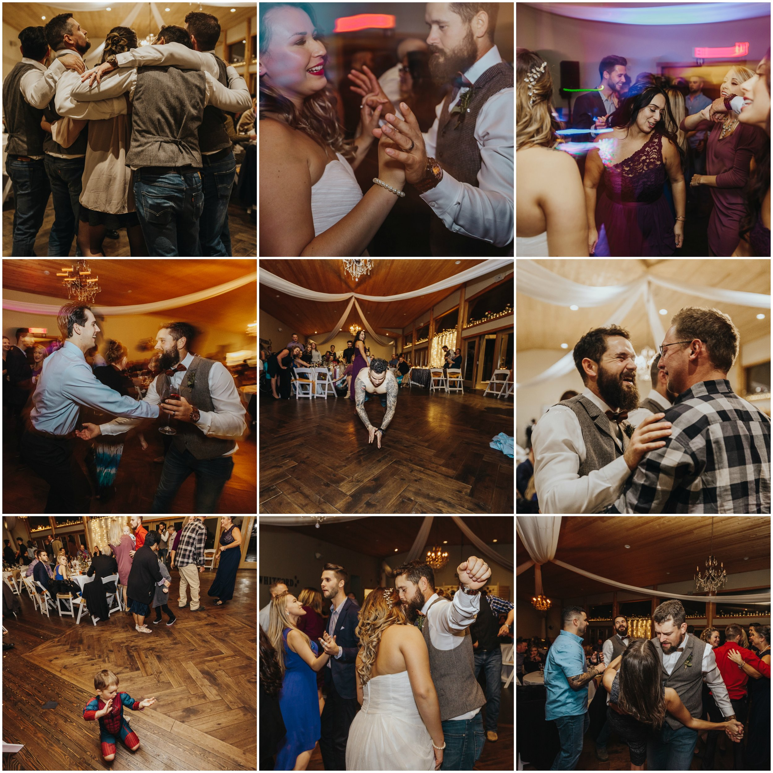 Fraser River Lodge, Rustic Pine Wedding, Red, Purple, Plaid 11.jpg