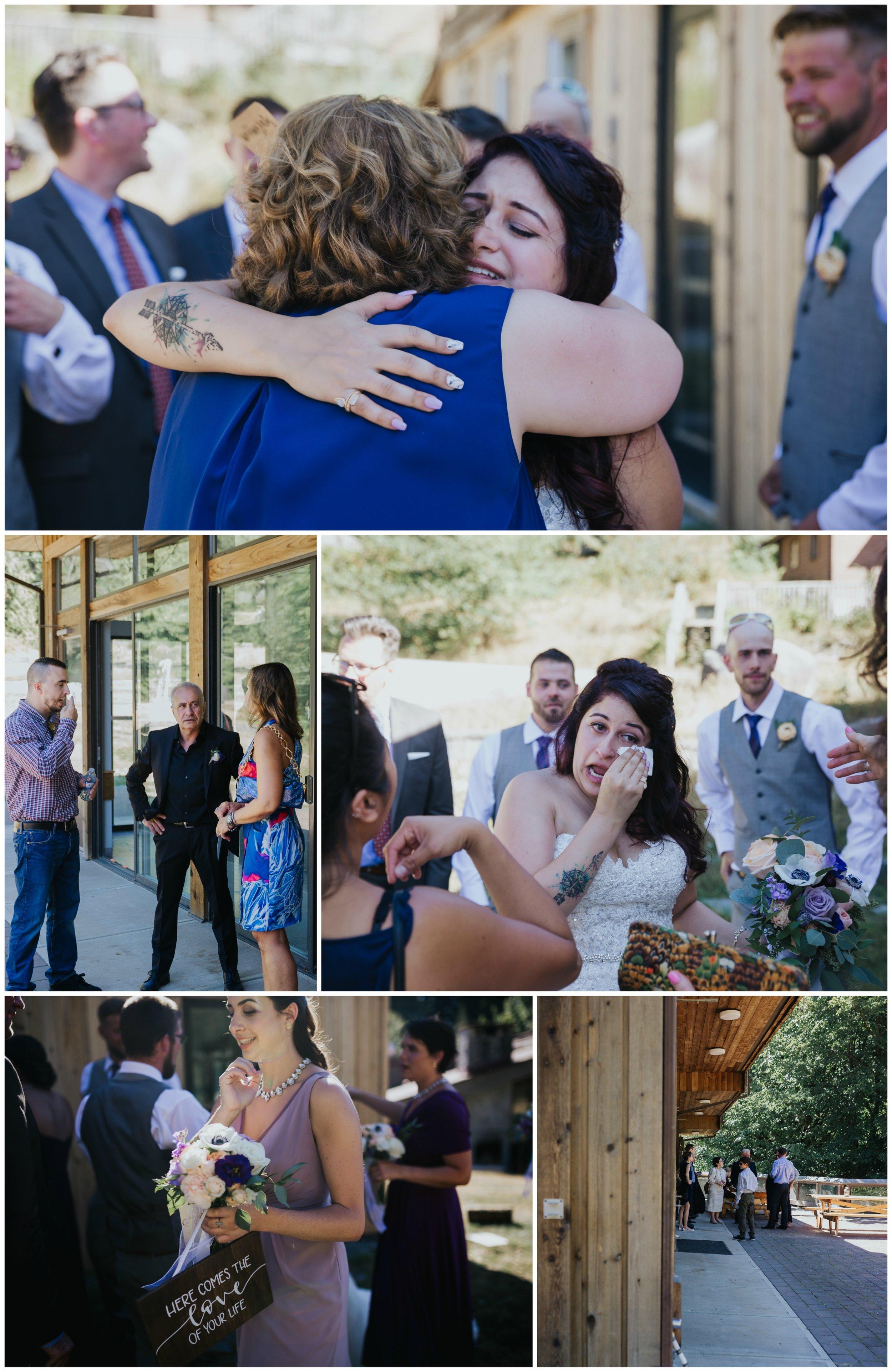 Camp Howdy Rustic Cabin Wedding receiving line.jpg