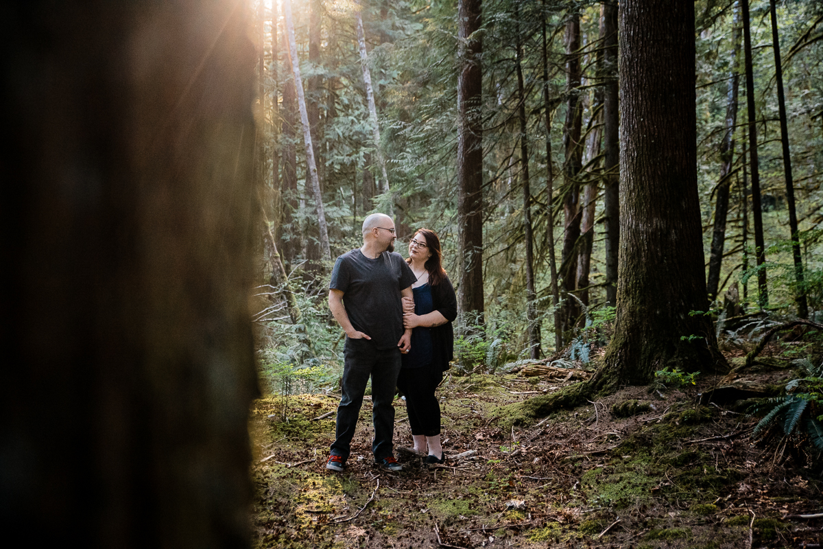 Alouette Lake Golden Ears Park Mountain Engagement Photography Plus Size Couple-0108.JPG