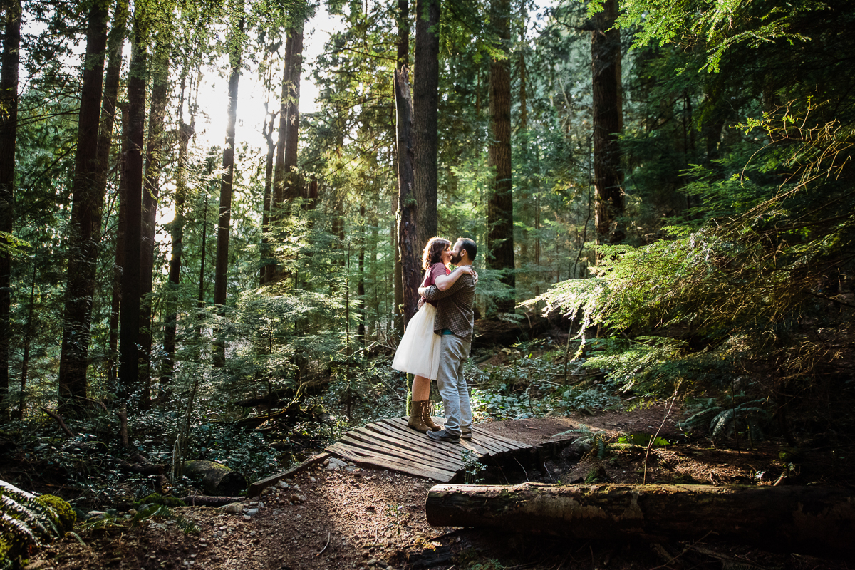 North Vancouver Forest Trails Engagement Photography Dog Walk -0104.JPG