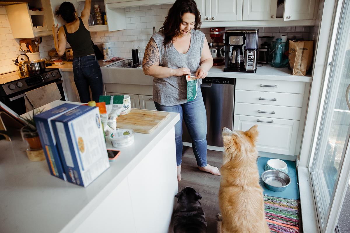 In Home Dinner Time Documentary Blended Family -16-016.JPG