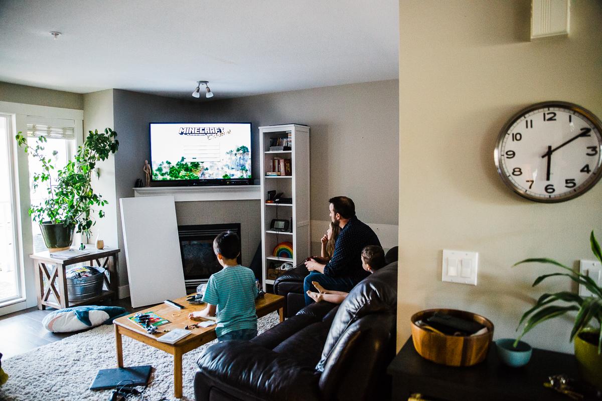 In Home Dinner Time Documentary Blended Family -53-054.JPG